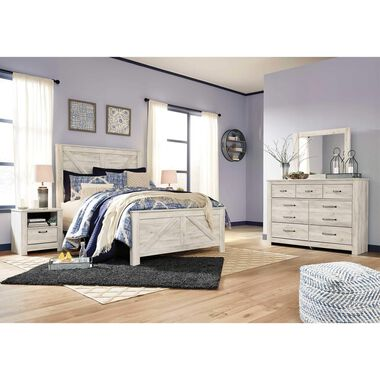 Rent To Own Ashley 6 Piece Bellaby Queen Bedroom Collection At