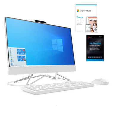 "24"" All-in-One Desktop w/ Microsoft 365 Personal & Total Defense Internet Security"