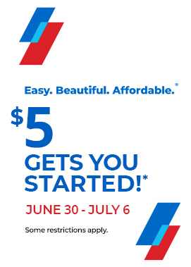 $5 Gets you started!