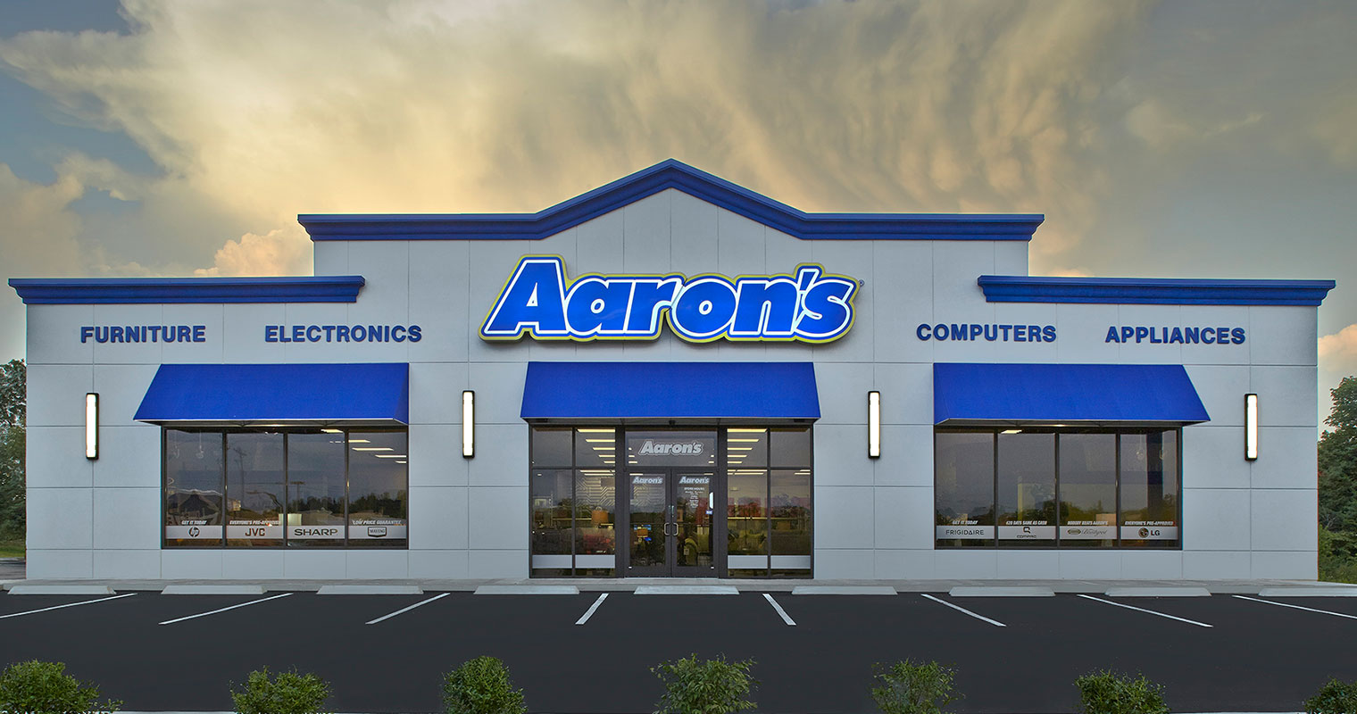 Aaron's Stores footer image