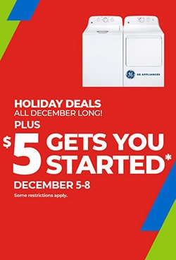Appliances Holiday Deals