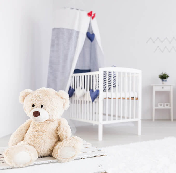 nursery to toddler room