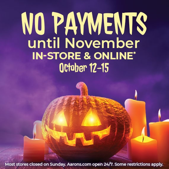No Payments Until November!