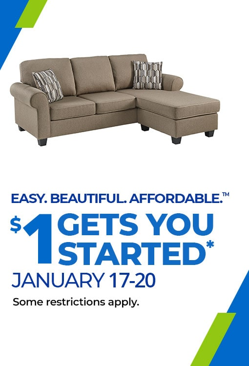 $1 Gets You Started Jan 17-20