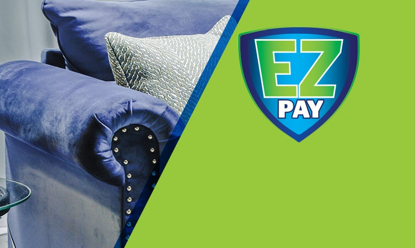 Never worry about missing a payment with EZPay*