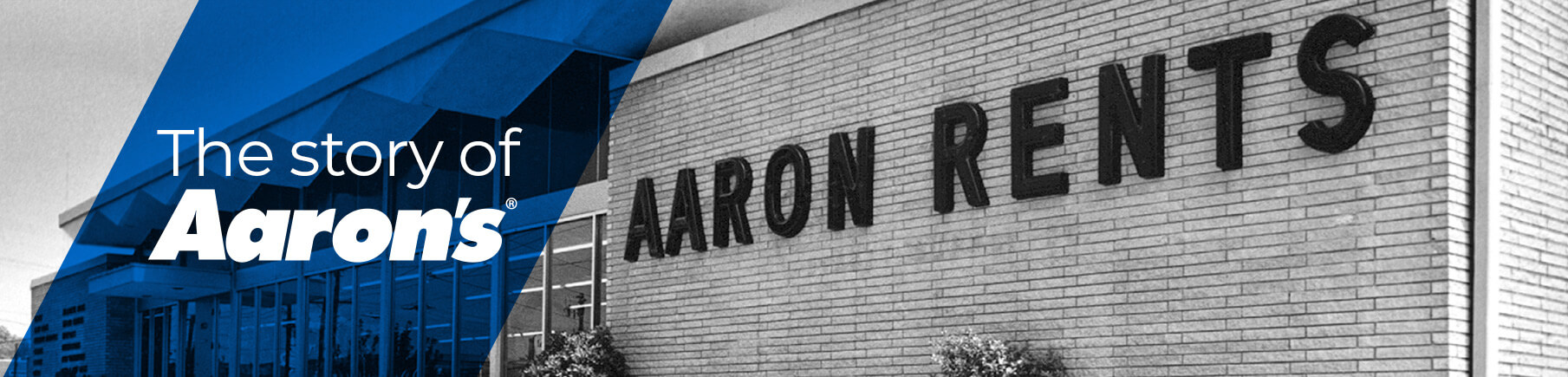 The story of Aaron's old store photo