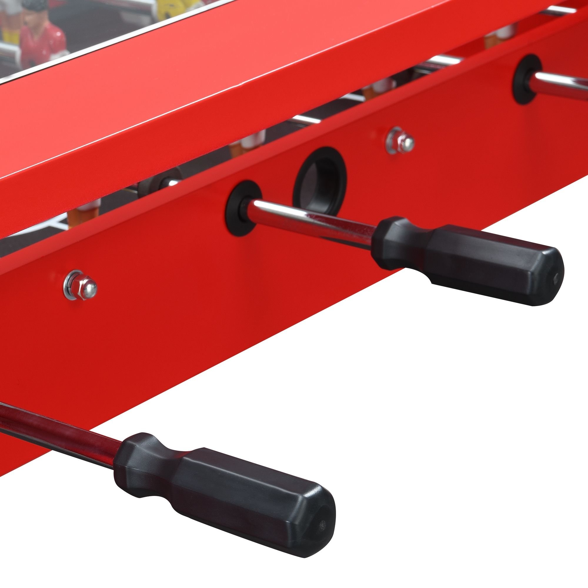 "45"" Foosball Gaming Table - Red"