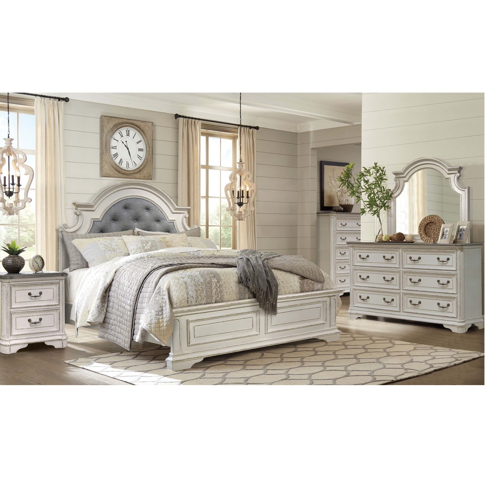 Rent To Own Riversedge Furniture 7 Piece Madison Queen Bedroom