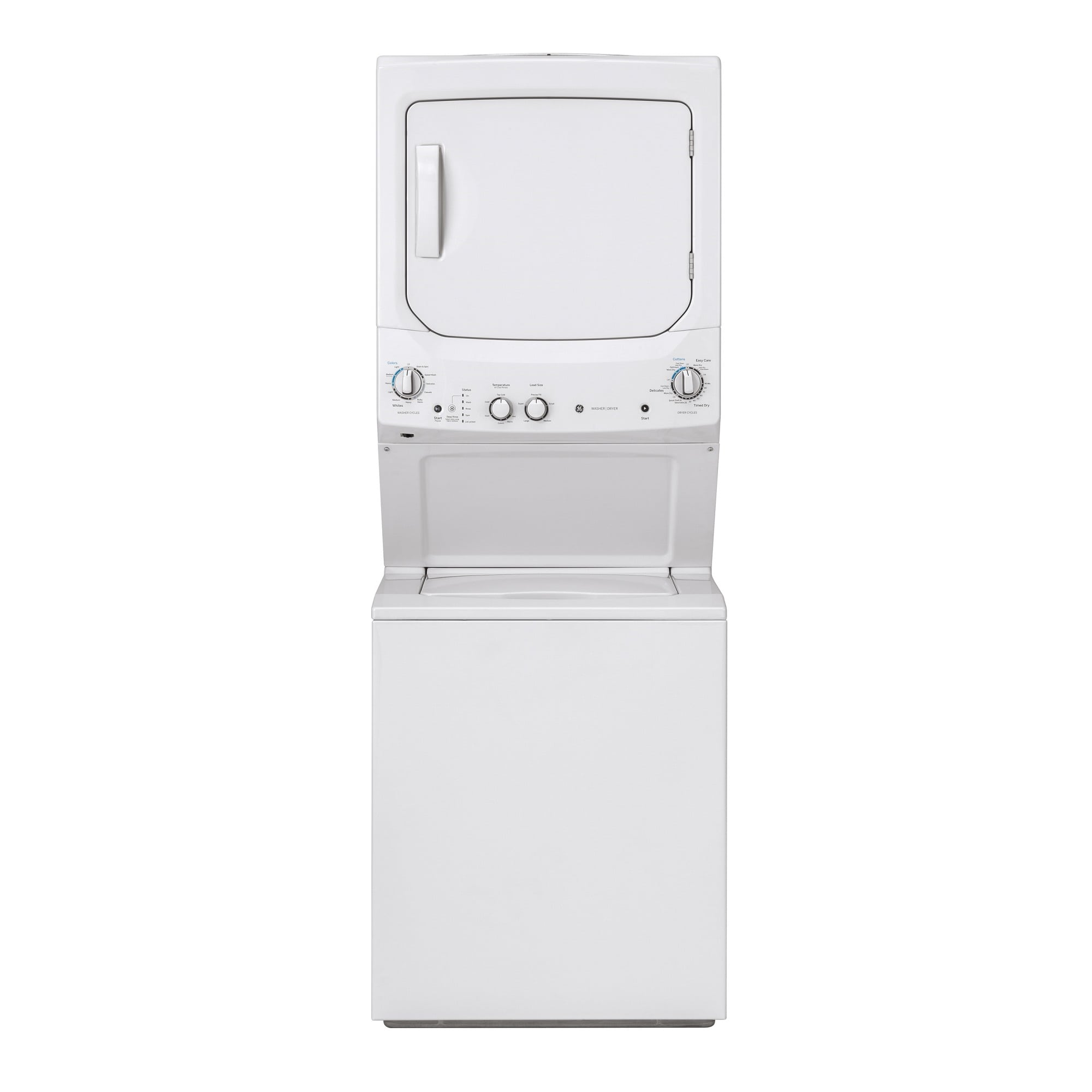 """27"""" Spacemaker® 3.8 cu. ft. Top Load Washer & 5.9 cu. ft. Electric Dryer"""