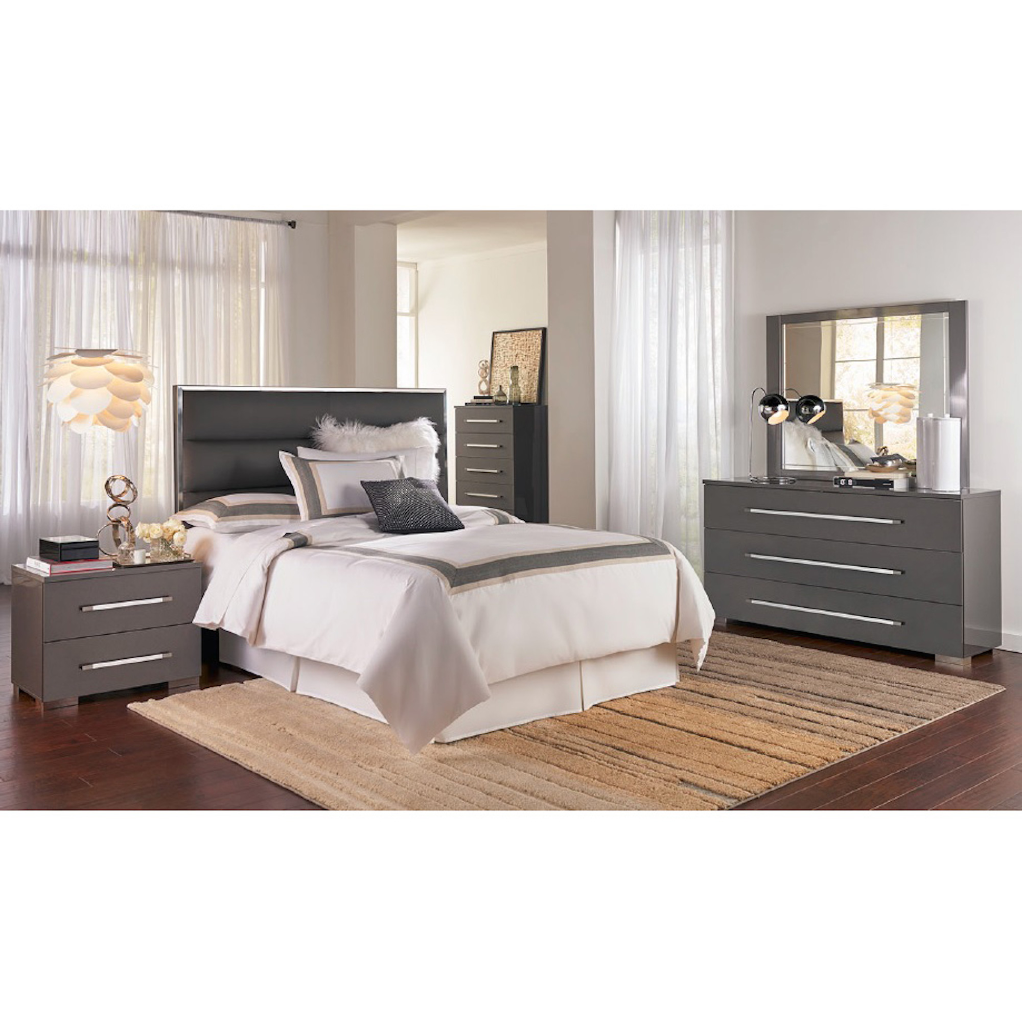Rent To Own Ideaitalia 5 Piece Dimora Ii Queen Bedroom Collection
