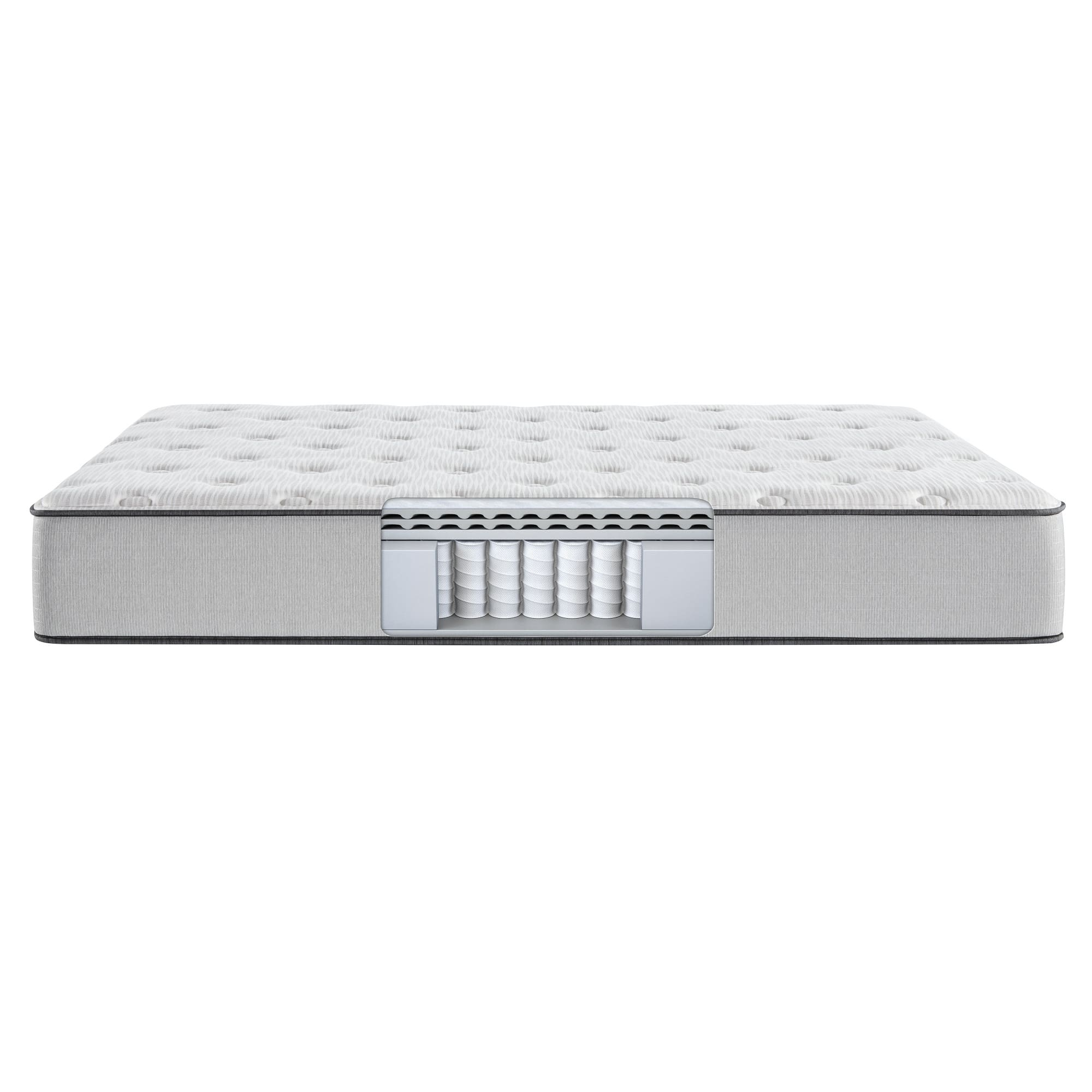 Tight Top Medium Firm Queen Mattress with Woodhaven Split Foundation and Protectors