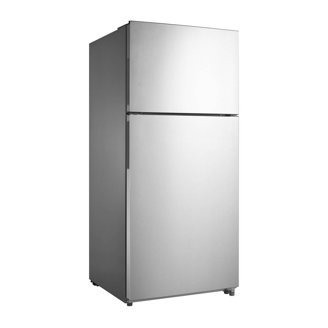 18.0 cu. ft. Energy Star Top Mount Refrigerator - Stainless Steel