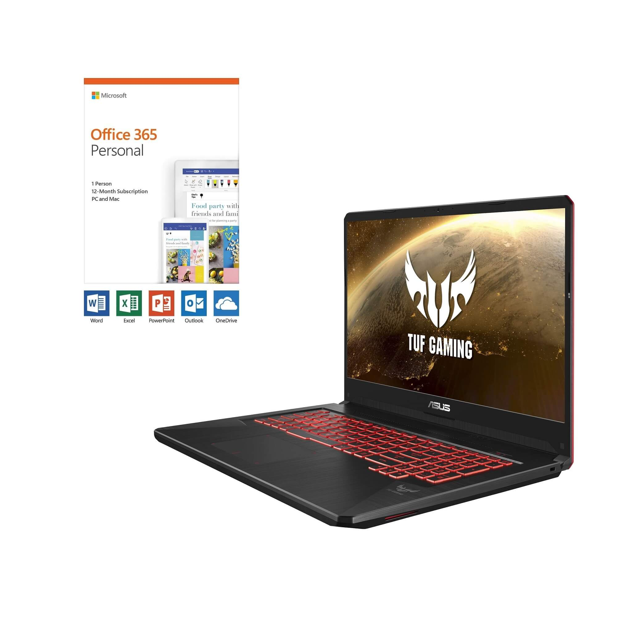 Asus 17 3 Amd Ryzen 5 Gaming Laptop