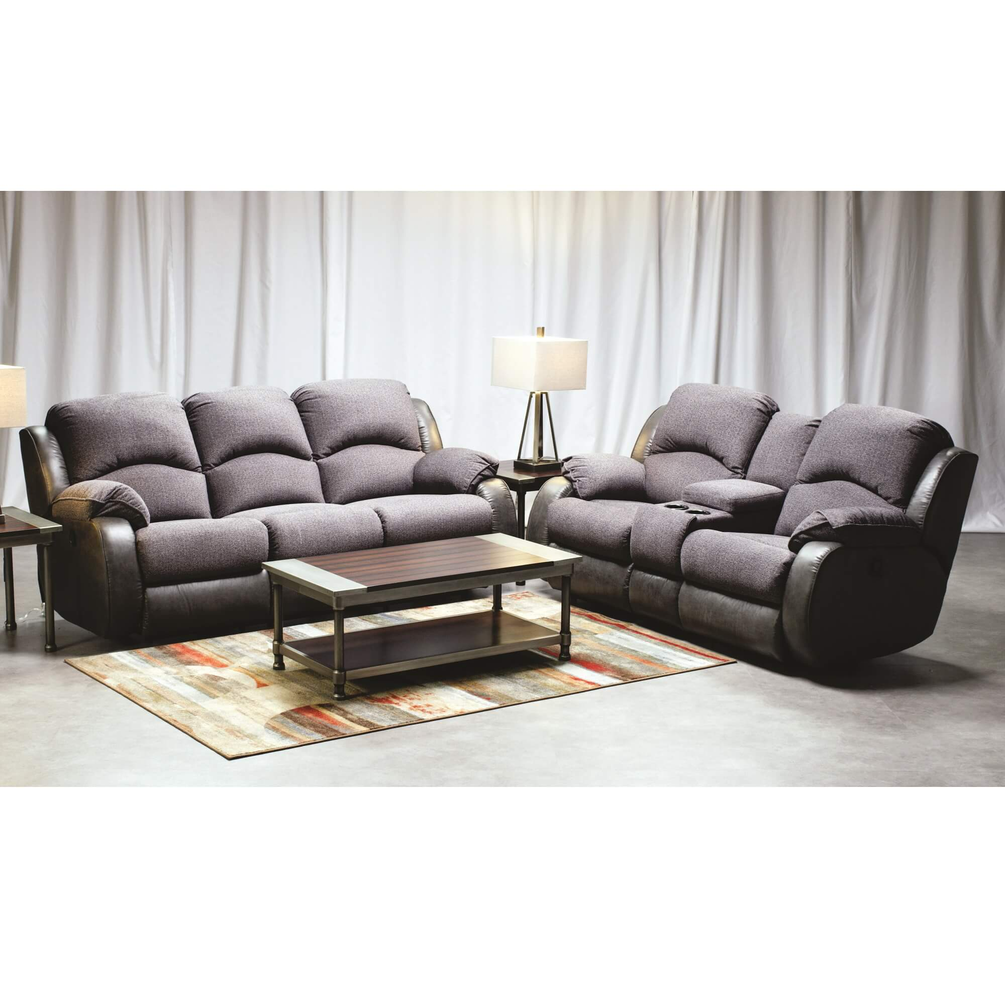 Rent To Own Woodhaven 2 Piece Montana Reclining Sofa Loveseat At Aaron S Today