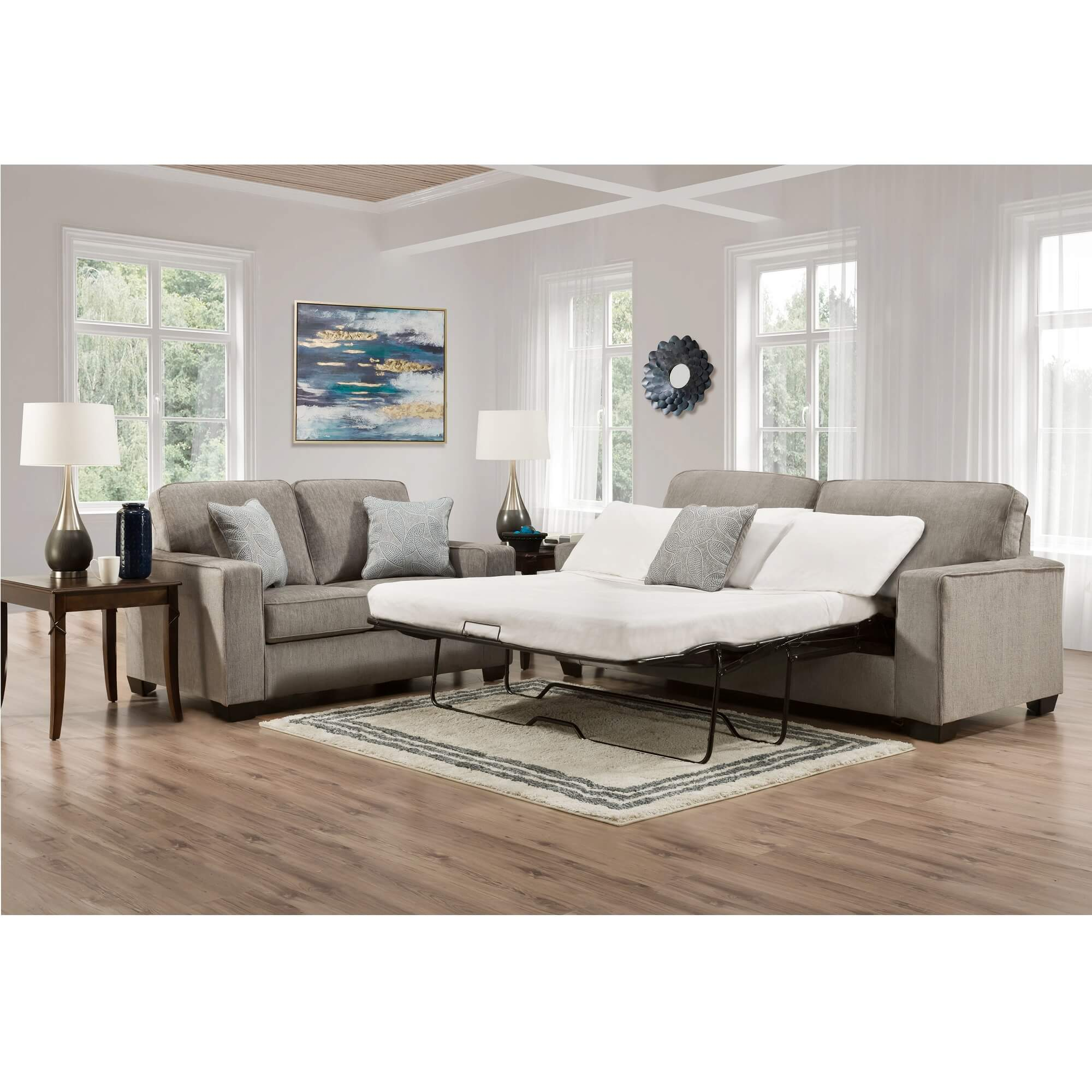 - Rent To Own Ashley 2-Piece Altari Queen Sleeper Sofa And Loveseat Set At  Aaron's Today!