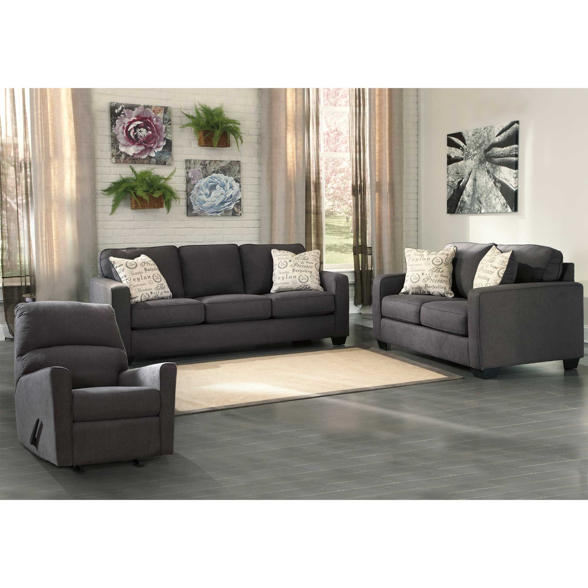 - Rent To Own Ashley 3-Piece Aleyna Sleeper Sofa With Matching