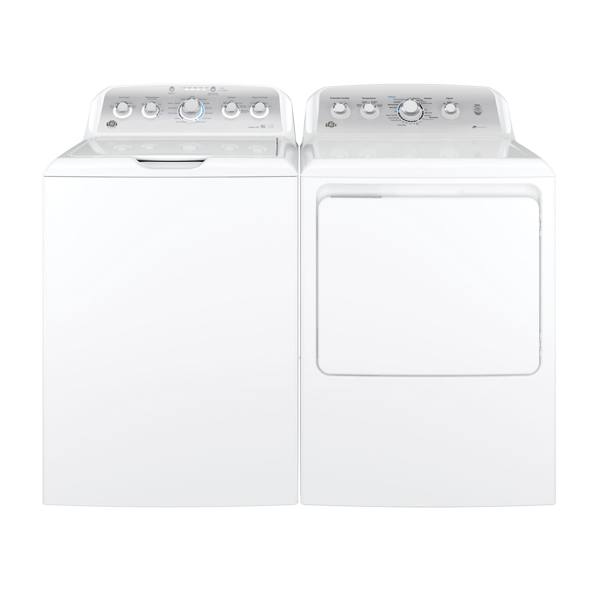 4.4 cu. ft. HE Top Load Washer &  7.2 cu. ft. Gas Dryer