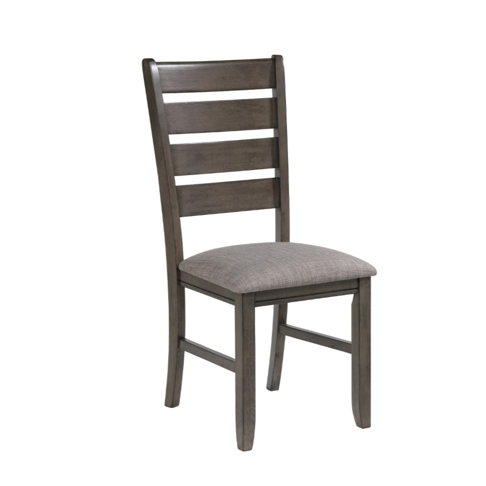 6-Piece Bardstown Grey Dining Set with 4 Chairs & Bench