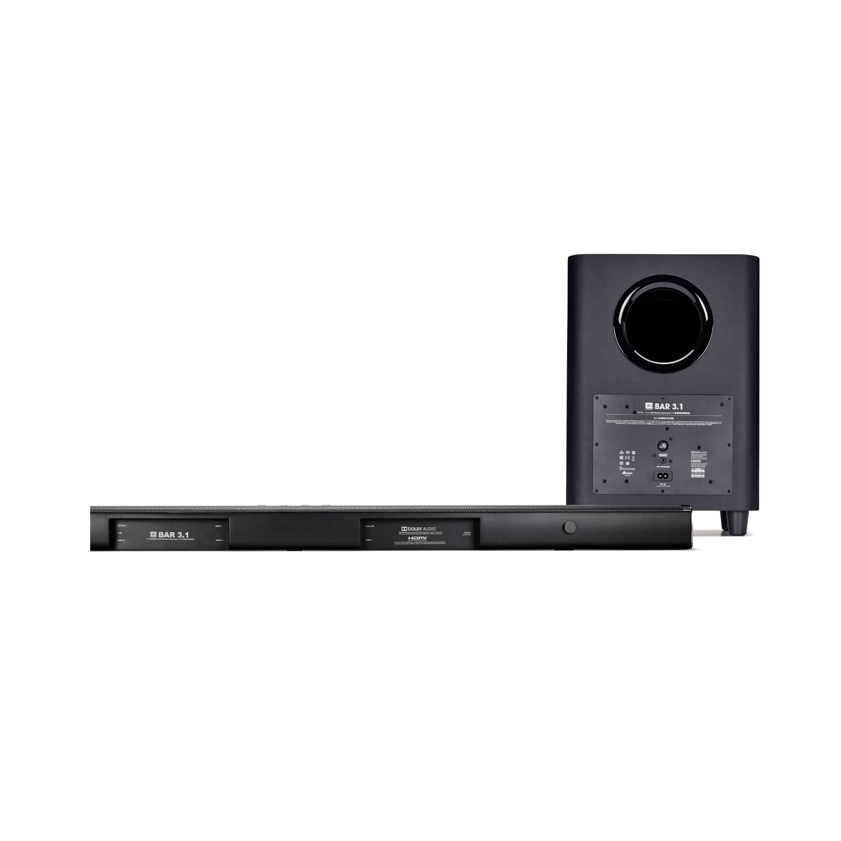 450W 3.1Ch Ultra HD Sound Bar with Wireless Subwoofer