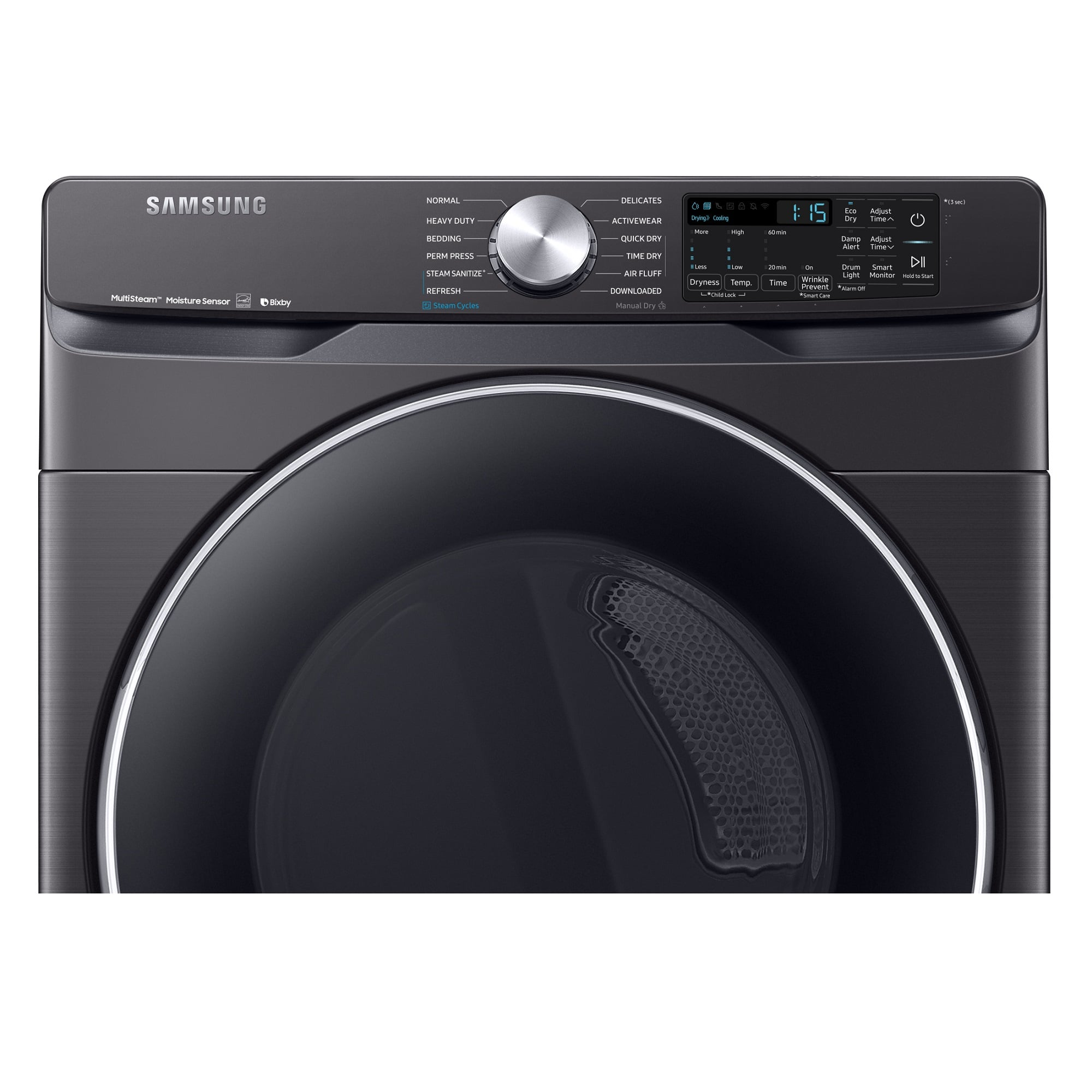 7.5 cu. ft. Energy Star Electric Steam Dryer Only