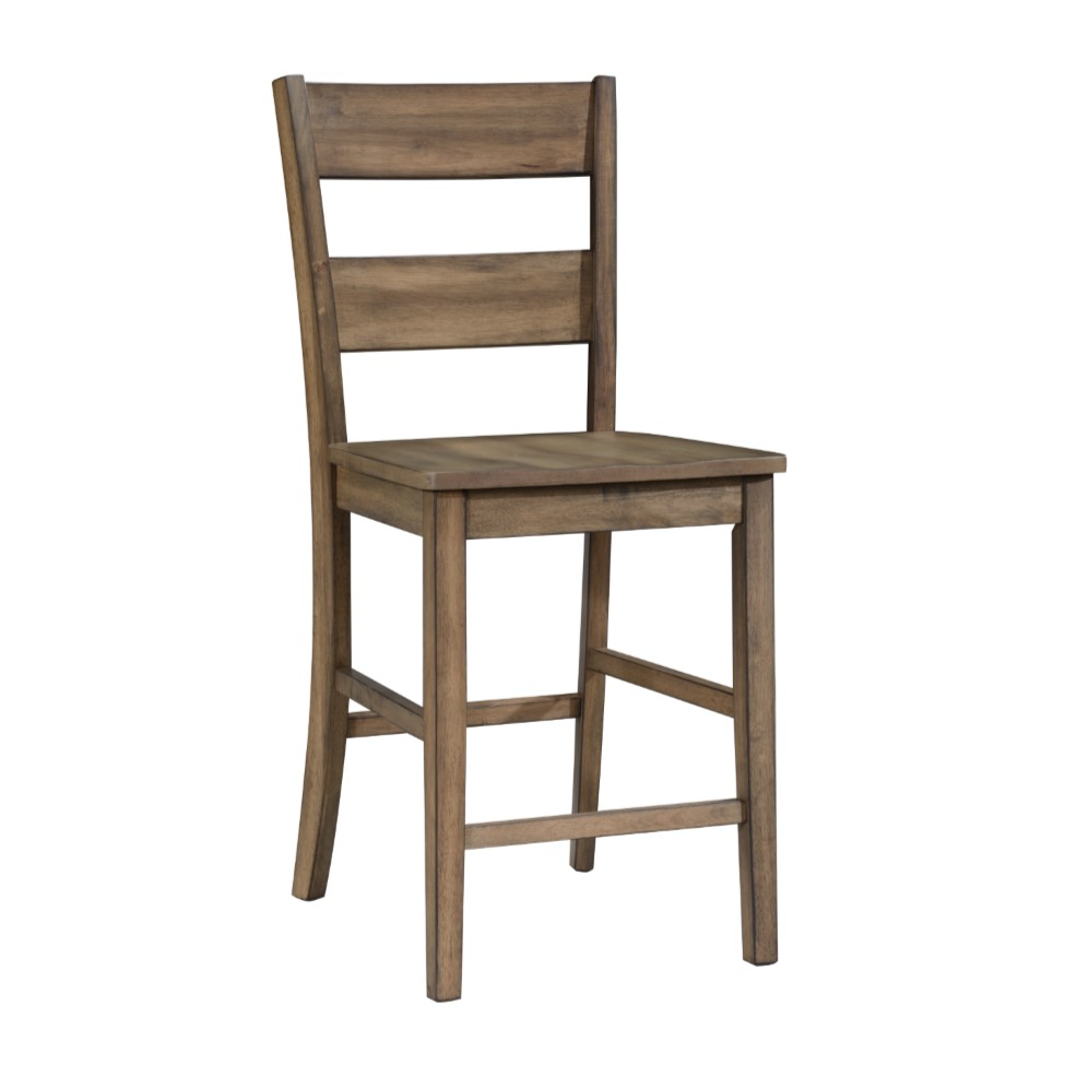 5-Piece Sean Brown Counter Height Dining Set