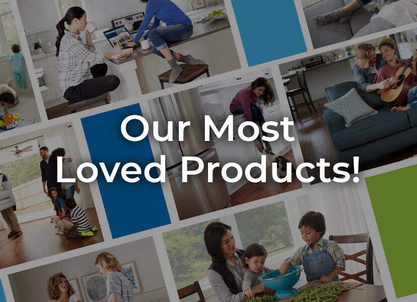 hero banner for most loved product landing page