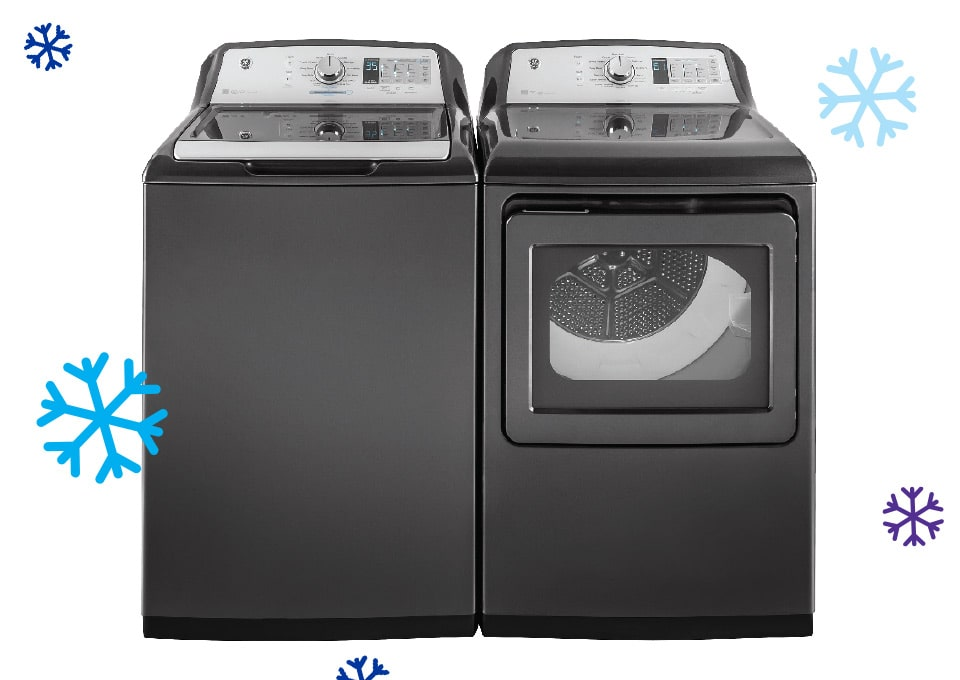 GE Washer & Electric Dryer Pair