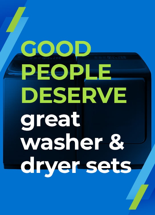 Rent to Own Washer and Dryer Sets | Aaron's