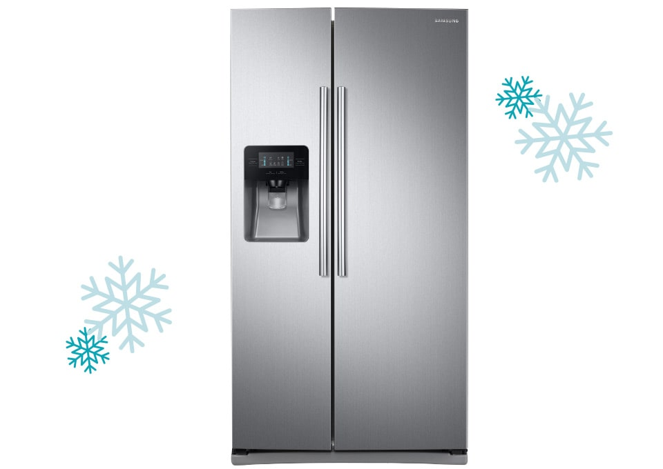 Samsung 25 cu. ft. Side-by-Side Stainless Steel Refrigerator
