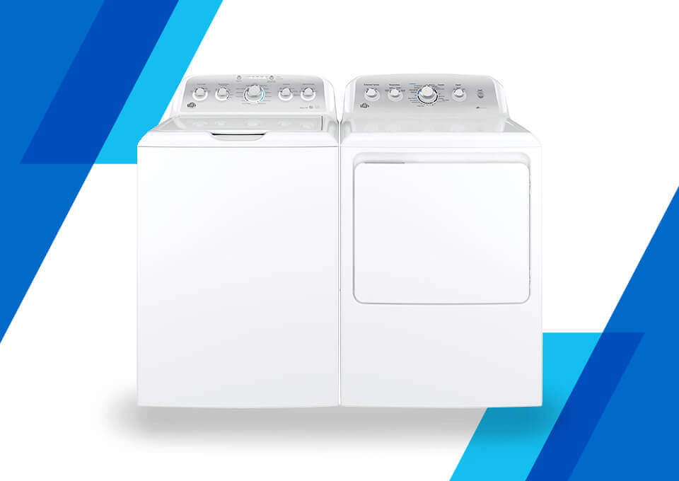 GE Electric TL Laundry Pair