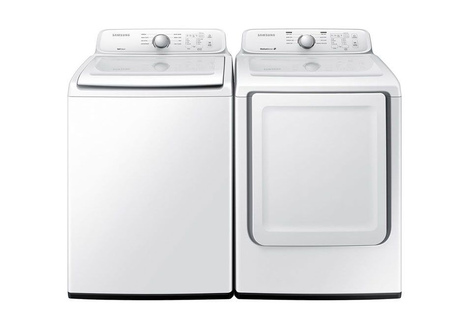 SAMSUNG Washer & Electric Dryer Pair