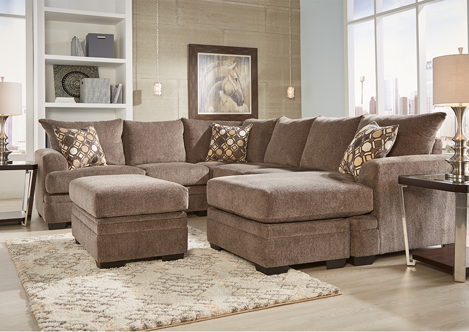 3-Piece Kimberly Living Room Sectional